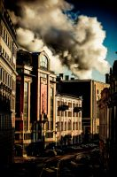 moscow street. balchug. by moitisse
