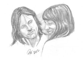 Aragorn and Arwen The Beginning Part 1 by rstrider9