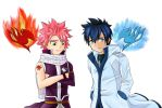 Fairy Tail - Natsu and Gray by StormSongz