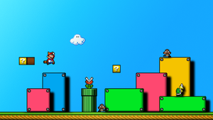Super Mario Bros. 3 Wallpaper by BrulesCorrupted