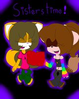 Sisters Time! by ivanakeira