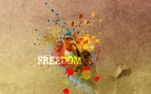 Freedom - Wallpaper by pincel3d