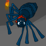 Scrish the Cave Spider :3 by Eeveesoul