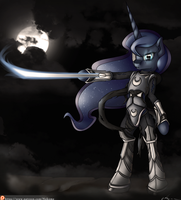 Equestria:Warzone - Empress Luna Moonslayer by Neko-me