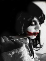Jeff the killer cosplay- I'm beautiful now? by haozeke93