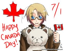 Happy Canada Day! by chestnutdesu