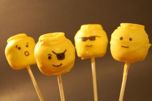 lego cake pops by soup1335