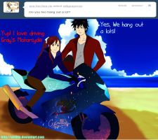 Ask Gray Erza 3 - Hangout by afrillia