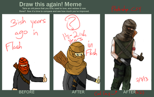 Before After Twice by RiddersmanGrim