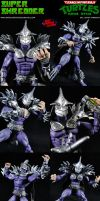 Custom Super Shredder (Movie Style) Action Figure by MintConditionStudios