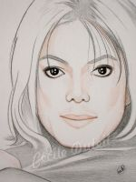 Michael Jackson - Invincible - detail by CecileD73