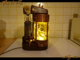 SteampunK Experience-lamp by StkZ613