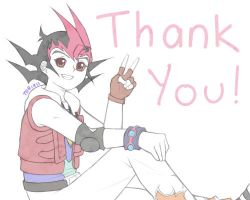 YGO ZeXal: A Thank You! by YWaiAiI