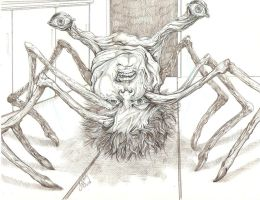 "Norris ""spider"" from The Thing by SammyG23"