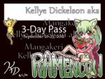 Ramencon 2012 Badge Design Entry by MangaKeri