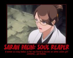 Sarah Palin: Soul Reaper by pharmmajor