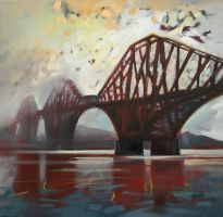 Forth Mist by NaismithArt