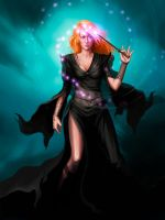 sorceress by st0ven