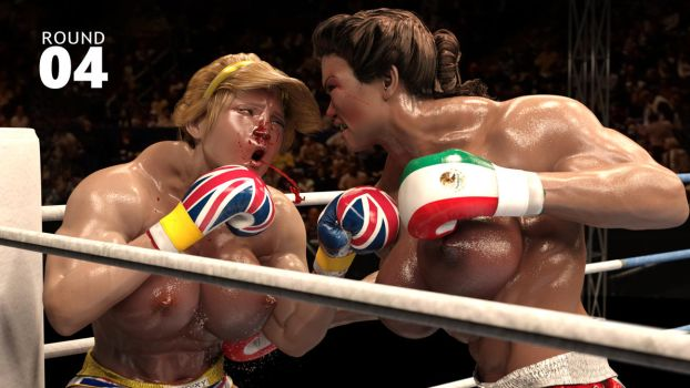 Deviantart Topless Boxing Knockouts