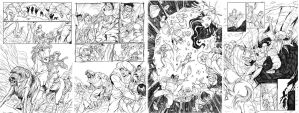 More Sinbad pages by Ferigato