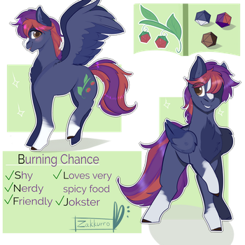 Burning Chance -custom com- by Zakkurro