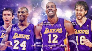 2012-2013 Los Angeles Lakers Wallpaper by rhurst