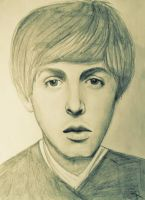 Paul McCartney by muggleriot