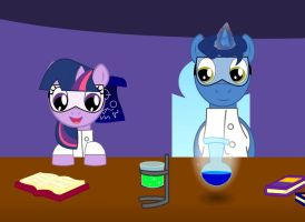 My Little Scientist by Pyrobug0