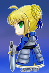 Saber For Shadow by NatsumeHirai