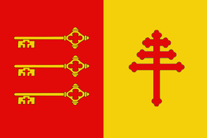 Papal Avignon - flag by Neethis