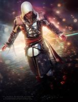 Edward Kenway - Collab w/ LoneWolf117 by LaceWingedSaby
