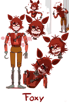 [FNAF HUMAN VERSION]  Foxy by YumeChii-NI