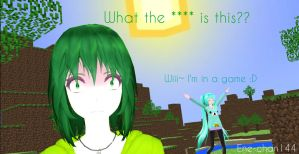 What the **** is this?? - Gumi and Miku by Ene-chan144