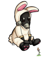 Little bunny pyro by dust-bite