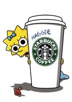 Maggie Starbucks by HomerS85
