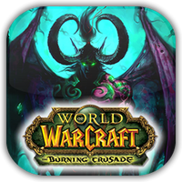 WoW Burning Crusade Game Icon by Wolfangraul