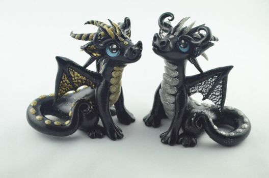 Dragons Guardians Of The Sun And Moon by claymeeples