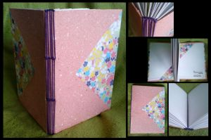 Sakura Soft Pink Sketchbook by ynguer