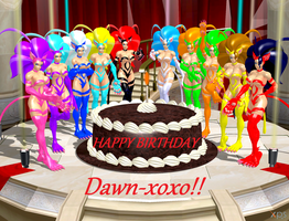 Happy Birthday, Dawn-xoxo! by NekoHybrid