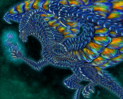 Labradorite Dragon by pluto-my-way