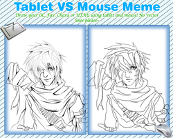 Tablet VS Mouse Meme by NesoKaiyoH