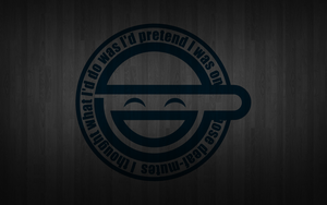Laughing Man wallpaper by Patrifu