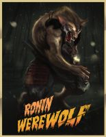 The Ronin Werewolf by rocketraygun