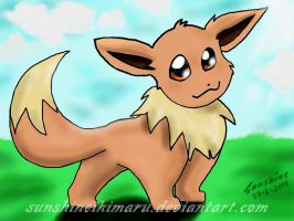 eevee by sunshineikimaru