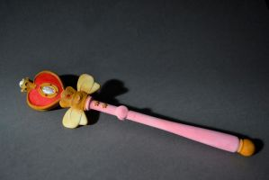 Sailor Moon Spiral Heart Rod Cosmic Wand by sorhainSlave