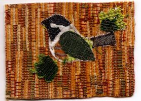 ATC Fabric Chickadee A by claudiamm37