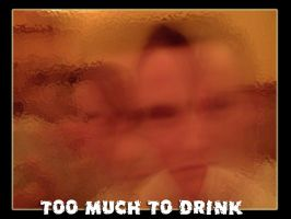 too much to drink by hellsmurf