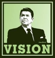 Ronald Reagan - Vision by Conservatoons