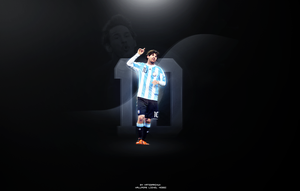 Messi by Matebarchuc