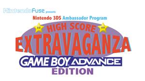 Nintendo Fuse GBA High Score Contest Logo by Spinky1